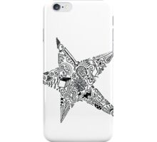 doodle star iPhone Case/Skin