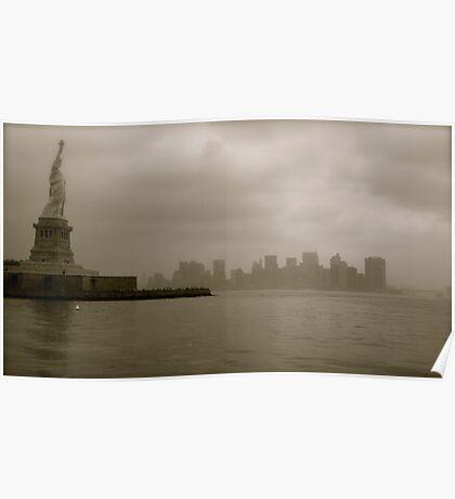 Liberty Island, New York City Poster