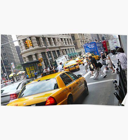 New York City Cab's Poster