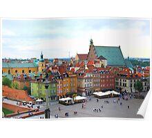 Warszawa - Old Town Poster