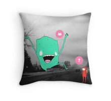 ? Throw Pillow
