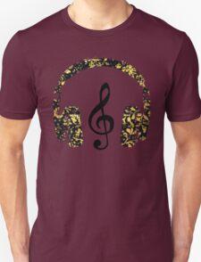 Floral Music T-Shirt