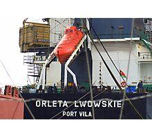 Gdansk Shipyards - Sights and Sounds Photographic Print