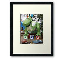 REX!!!! Framed Print