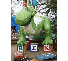 REX!!!! Photographic Print