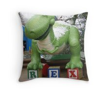 REX!!!! Throw Pillow