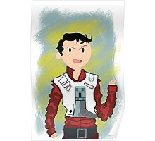 Star Wars Episode VII- Poe Dameron (Adventure Time-Style)  Poster