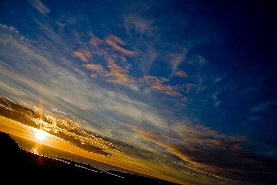 Beautiful Birthday Sunset by Adam Costello