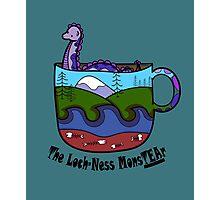 Loch-Ness MonsTEAr Photographic Print