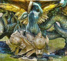 The Mermaid Fountain by Kim Slater