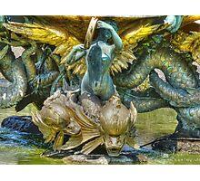 The Mermaid Fountain Photographic Print