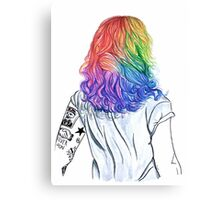 Rainbow Harry Canvas Print