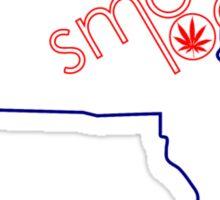 Smoke Local Weed in Boston Massachusetts (MA) Sticker