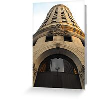 Turk's Head Building, Providence Greeting Card