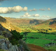 Langdale Valley Views by VoluntaryRanger