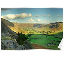 Langdale Valley Views Poster
