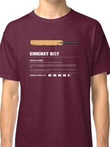 Zombie Weapons - Cricket Bat Classic T-Shirt