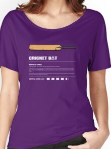 Zombie Weapons - Cricket Bat Women's Relaxed Fit T-Shirt