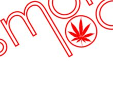 Smoke Local Weed in Denver Colorado (CO) Sticker