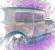 Old 1926 Ford ! This Ones for the Girls ! 2 of 2 Pictures  by Jan Siemucha