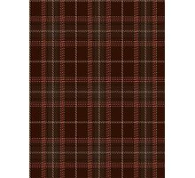00404 Beanpole Brown Trial Tartan Photographic Print