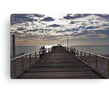Henley Beach Jetty - South Australia Canvas Print