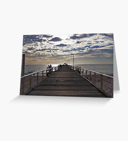Henley Beach Jetty - South Australia Greeting Card