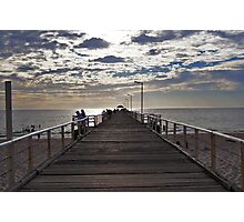 Henley Beach Jetty - South Australia Photographic Print