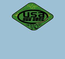 usa new york tshirt green by rogers bros co Unisex T-Shirt