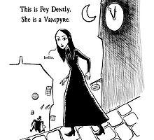 Fey Dently, Vampyre by Elizabeth Watasin