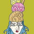 Brain Freeze by doodlesbydanni