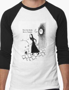 Fey Dently, Vampyre Men's Baseball ¾ T-Shirt