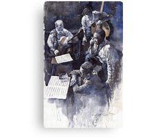 Jazz Parker Tristano Bauer Safransky RCA studio NY 1949 Canvas Print