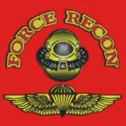 USMC Force Recon T-Shirt by Walter Colvin