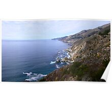 Pacific Coast Highway, California Poster