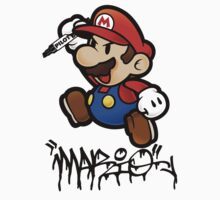 Super Mario does Graffiti by SlyFox