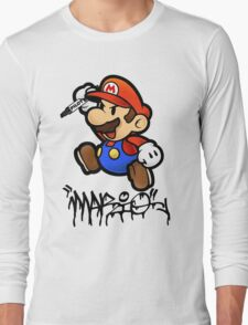 Super Mario does Graffiti T-Shirt