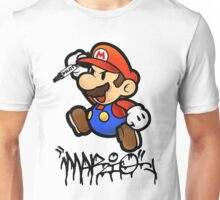 Super Mario does Graffiti Unisex T-Shirt