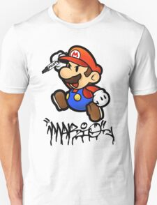 Super Mario does Graffiti T-Shirt