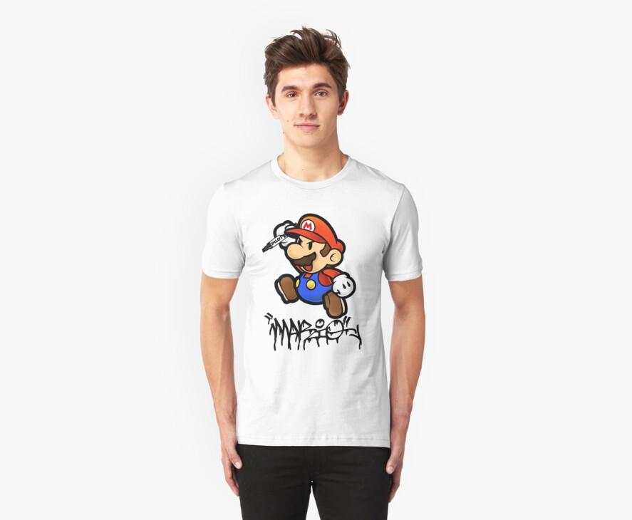 Super Mario does Graffiti by SlyFox