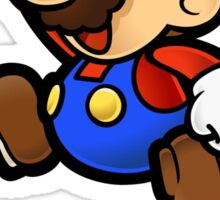 Super Mario does Graffiti Sticker