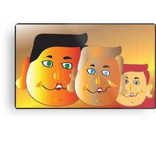 We are Family.... Metal Print