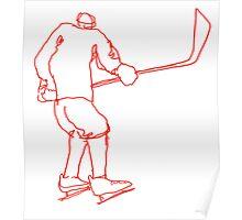 Hockey Player 4 Poster