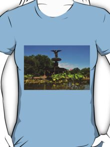 Bethesda Terrace Fountain - Central Park, NYC T-Shirt