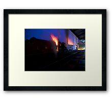 Steam dragons.... Framed Print