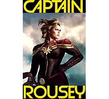 Captain Rousey Photographic Print