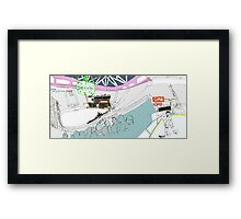 Keep Your Eye On The Puck! Framed Print