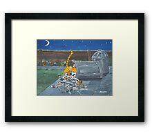 Midnight Thief Framed Print