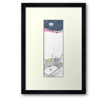 Tall Arena Framed Print
