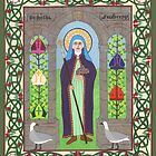 Icon of St. Hilda by David Raber